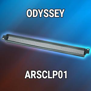 480220f01d7 Odyssey ARSCLP01 Rack Cover 1U - AudioCraZ.com