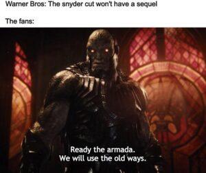 Darkseid Snyder Verse