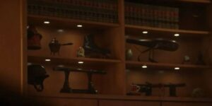 Collections in Judge Ravonna Renslayer Office